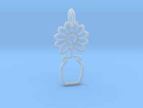 Tree No.3 Pendant in Smooth Fine Detail Plastic