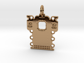 Electronics Pendant in Polished Brass