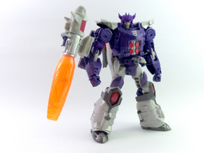 Titans Return Voyager Galvatron Helm in Purple Processed Versatile Plastic
