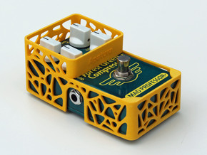 Mad Professor Factory 4 knobs pedal cover in Yellow Processed Versatile Plastic