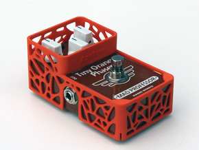 Mad Professor Hand Wired 3 knops pedal cover in Orange Processed Versatile Plastic
