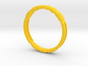 Kony Bracelet in Yellow Processed Versatile Plastic