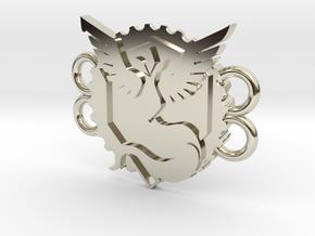 Pokemon Go Team Mystic Bracelet in 14k White Gold