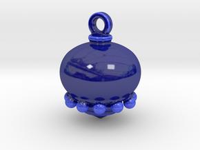 Deco Natale .2 in Gloss Cobalt Blue Porcelain