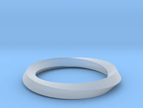 Mobius band in Smooth Fine Detail Plastic