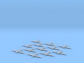 Blohm & Voss BV-155 1:1250 x12 in Smooth Fine Detail Plastic