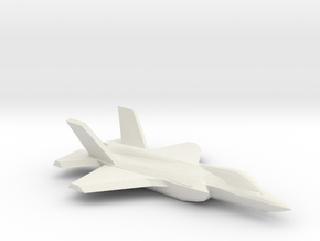 1/350 F-35A Lightning II in White Natural Versatile Plastic