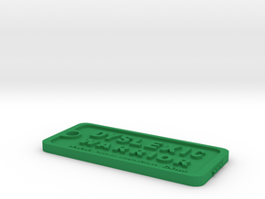 Tag-D-6 in Green Processed Versatile Plastic