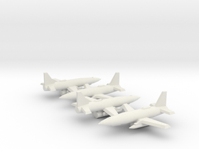 1/350 MQ-19 LCASD (x4) in White Natural Versatile Plastic