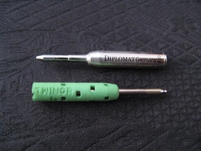 Adapter: Diplomat Twingraph To Cross Matrix in Green Strong & Flexible Polished