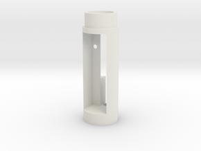 Consular 18500 Modified Keystone Prizm in White Natural Versatile Plastic