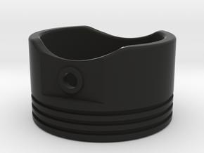 Piston - US Size 12.5 in Black Natural Versatile Plastic