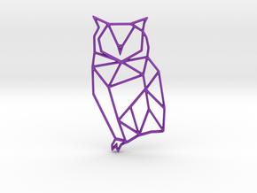 Origami Owl Pendant and Necklace in Purple Processed Versatile Plastic