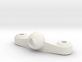 Shock Mount lower version in White Natural Versatile Plastic