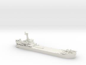 1/700 Scale Vietnam LST in White Natural Versatile Plastic