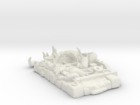WCV CG Dungeon Grate Kit 2.0 in White Natural Versatile Plastic