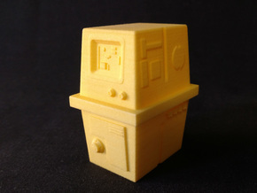 PRHI Star Wars Gonk Droid 1/12 Scale - Body in Yellow Strong & Flexible Polished
