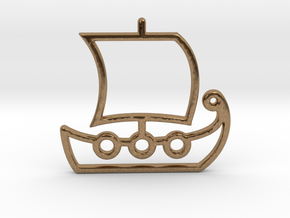 Ship No.1 in Natural Brass