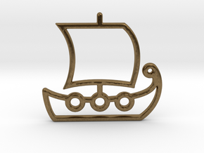 Ship No.1 in Natural Bronze