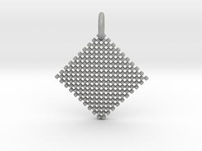Squares Pendant in Aluminum