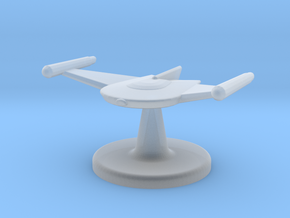 Game piece Romulan Bird-of-Prey in Smooth Fine Detail Plastic