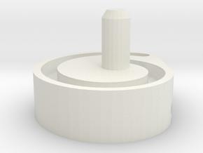 LISTA CAM X2423 in White Natural Versatile Plastic