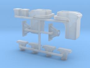 068001-00 Tamiya Lunchbox Lens Set in Smooth Fine Detail Plastic