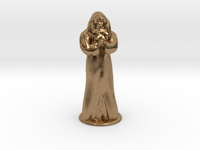 Anubus 35 mm scale in Natural Brass
