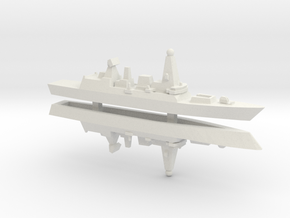 Type 45 DDG x 2, 1/2400 in White Natural Versatile Plastic