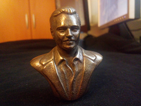 Leonardo DiCaprio in Polished Bronze Steel