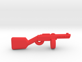 PPSH-41 in Red Processed Versatile Plastic