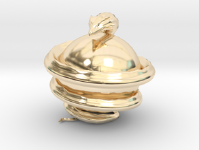 World Serpent in 14K Yellow Gold