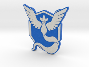 Pokemon Go - Team Mystic Badge 1 in Full Color Sandstone