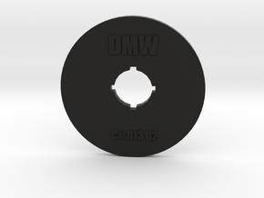 Clay Extruder Die: Coil 013 02 in Black Natural Versatile Plastic
