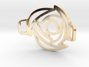 Rose Bracelet in 14k Gold Plated Brass