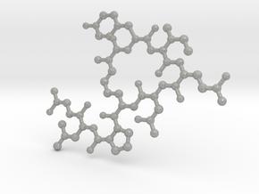 Oxytocin (2D model) in Aluminum