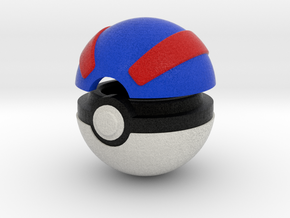 Pokeball (Great) in Full Color Sandstone