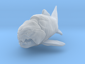 Dunkleosteus middle size(color) in Smooth Fine Detail Plastic