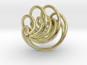 Model-75a95bc3c1b72da2ca30c72c0b0911a7 in 18k Gold Plated Brass