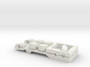 Chassis for Carrera Universal 132 E30 Autoart in White Natural Versatile Plastic