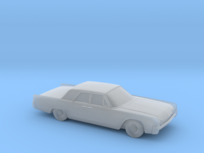 1/120 1962 Lincoln Continental Sedan in Smooth Fine Detail Plastic