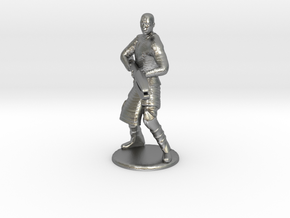 Jaffa Attack Pose - 20mm in Natural Silver