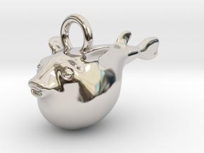 Fugu - 河豚 - 鰒 in Platinum