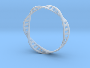 DNA Bracelet (Large) in Smooth Fine Detail Plastic