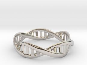 DNA Bracelet (Medium) in Platinum