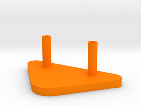 Soporte  Kinect Base in Orange Processed Versatile Plastic