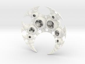 Vritra's Pearls in White Processed Versatile Plastic