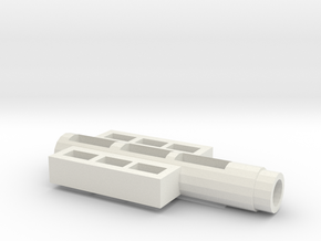 Fortress Maximus Handle Adapter in White Strong & Flexible