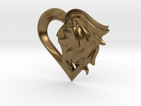 LionHeart(Emblem) in Natural Bronze