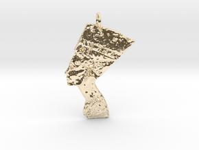 Nefertiti Pendant in 14K Yellow Gold